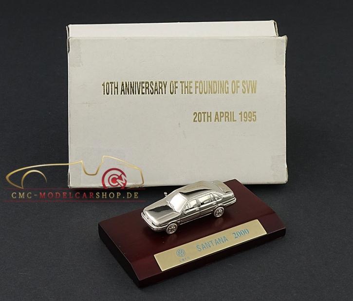 CMC VW China Passat Santana, silvered, 1:87
