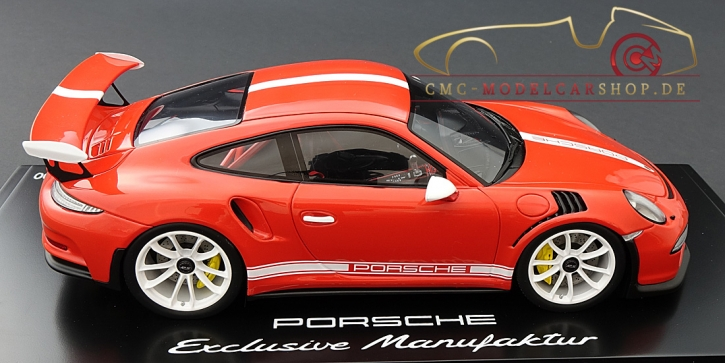Spark Porsche 911 (991) GT3 RS orange IAA 2015, Limitiert 300
