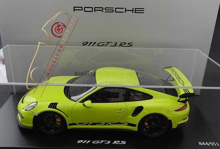 Porsche 911 (991) GT3 RS Lichtgrün, Spark, Limitiert 911