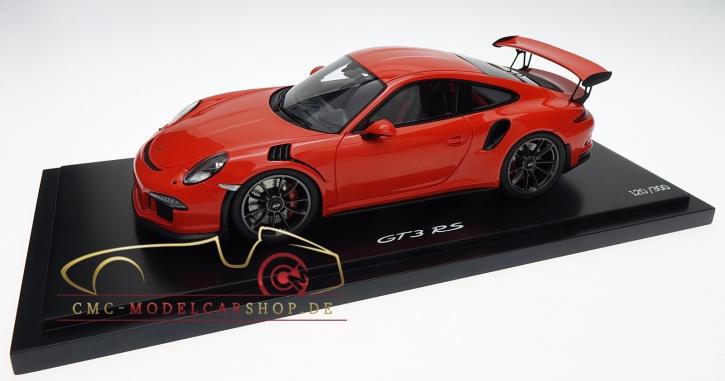 Porsche 911 (991) GT3 RS lavaorange, Limitiert 300, Porsche Museum