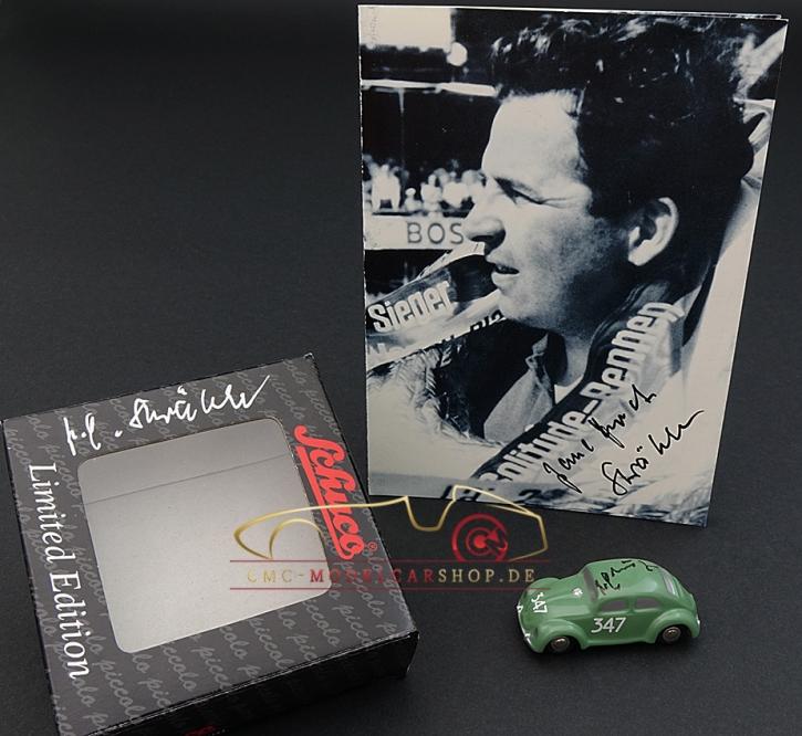 Schuco Piccolo VW Brezelkäfer signiert Paul Ernst Strähle