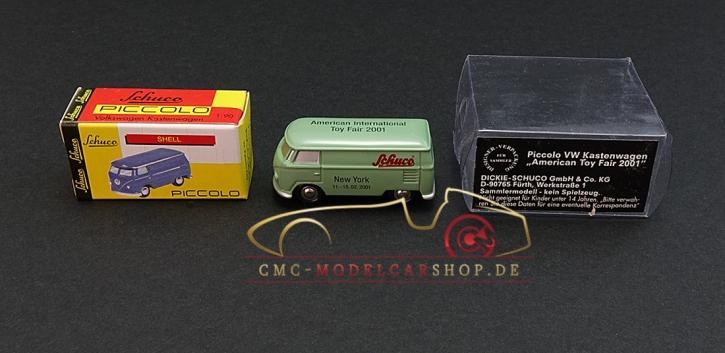 Schuco Piccolo VW T1 American Toy Fair 2001, grün