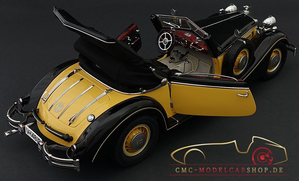 C-003 bei PREMIUM-MODELCARS 1:12 CMC Horch 853 yellow// black 1937