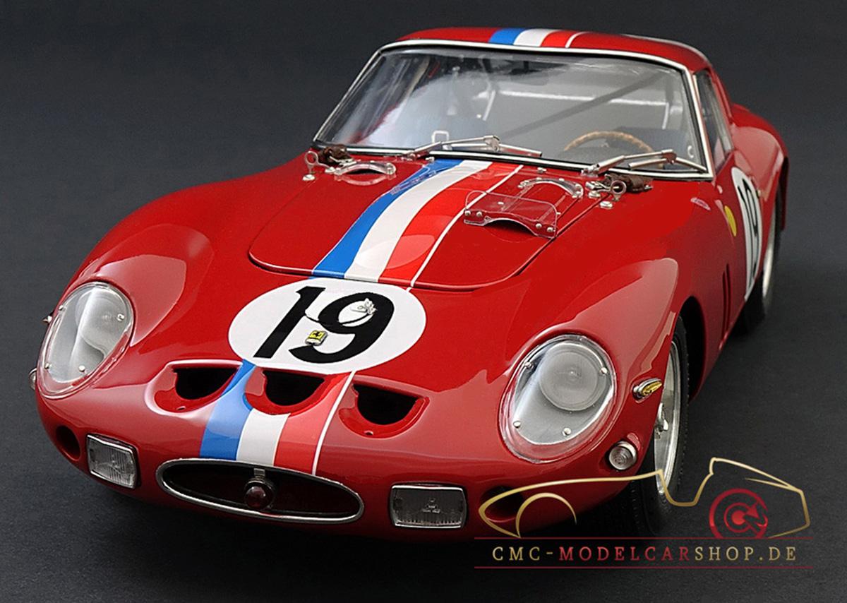 Cmc M155 Ferrari 250 Gto Le Mans Cmc Modelcarshop Model Cars