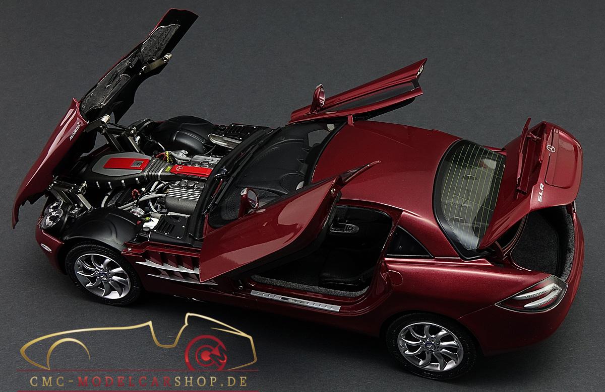 mercedes slr mclaren model car cmc m045a miniature