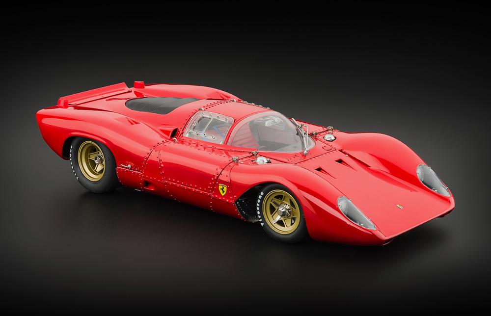 Cmc Ferrari 312p Berlinetta Modellauto Modeles Miniature Model Car
