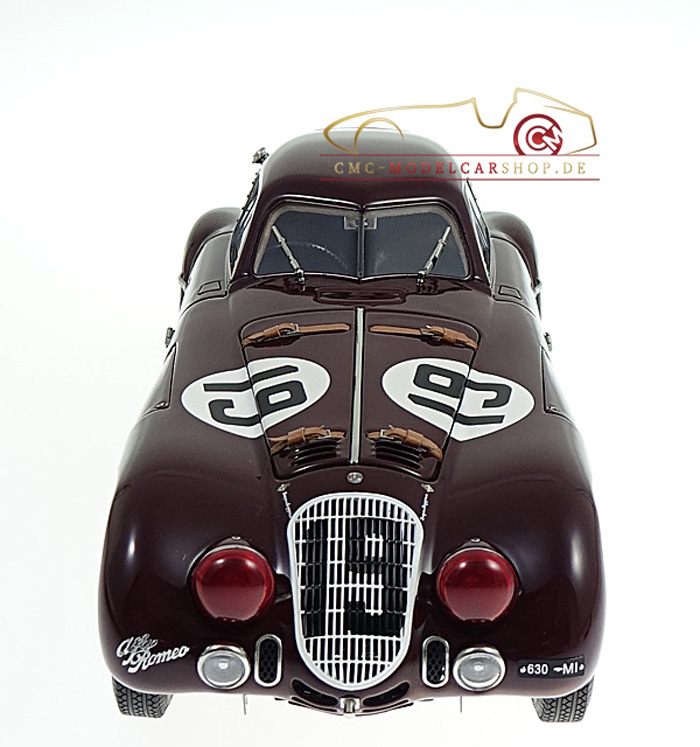 CMC Alfa Romeo 8C Le Mans, M-111, Modellauto, Miniature