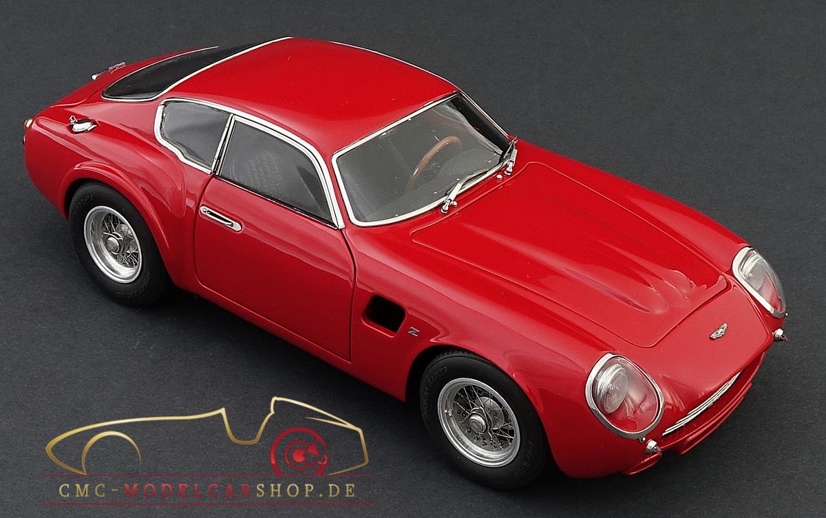 M146 Cmc Aston Martin Db4 Gt Zagato Red Model Car Miniature