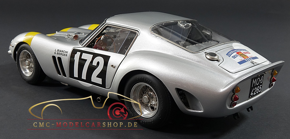 Cmc Ferrari 250 Gto Tour De France M157 Model Car Miniature Model Cars