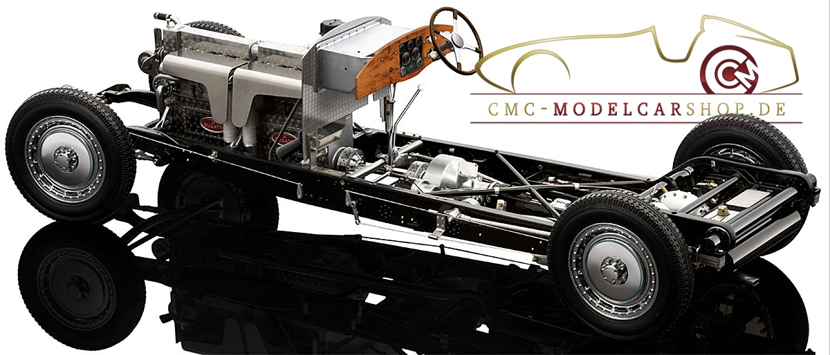 bauer exclusive bugatti royale roadster esders, modele miniature