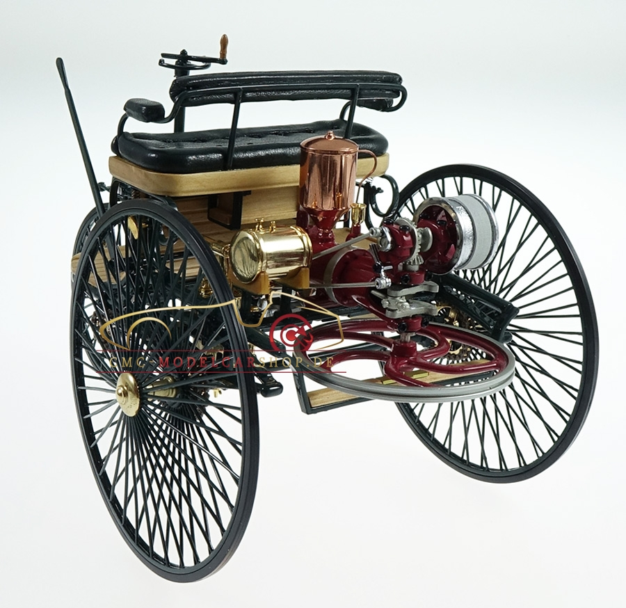 The World S First Automobile The Benz Patent Motorwagen: CMC Benz Patent Motorwagen, Modellauto, Modelle, Modellbau