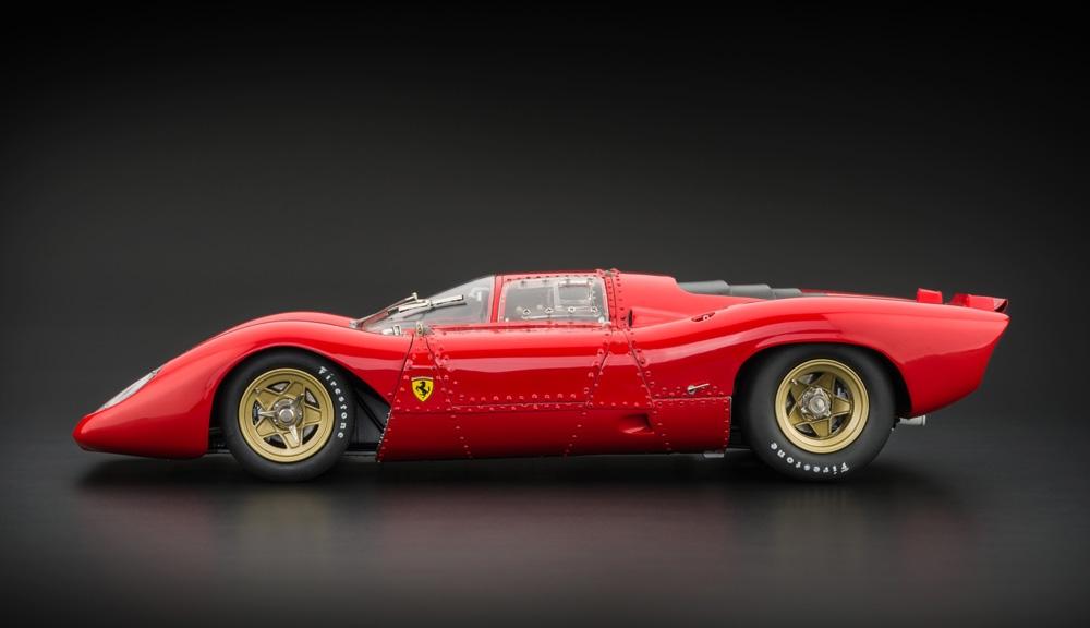 Cmc Ferrari 312p Berlinetta Model Car Miniature Modeles