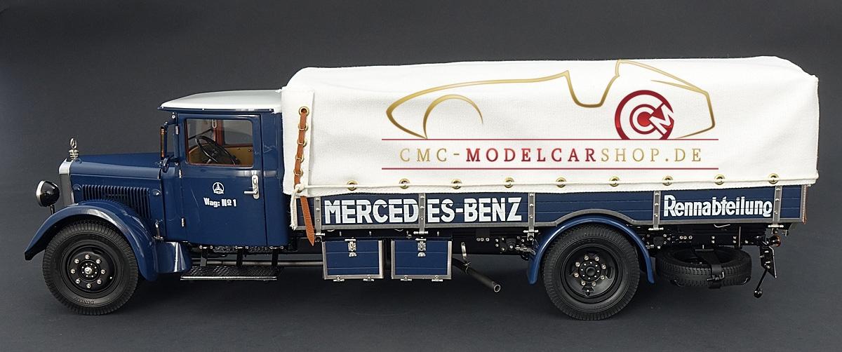Cmc Mercedes Racing Car Transporter
