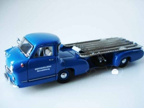 CMC Mercedes-Benz Race Car Transporter, 1954, 1/43