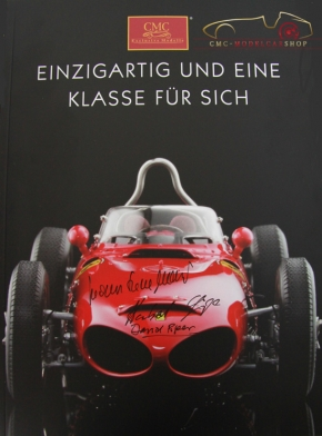 CMC Katalog 2010 mehrfach original signiert