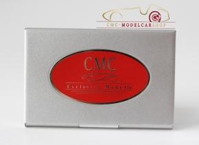 CMC Visitenkarten Etui Edelstahl poliert
