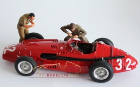 Figutec Set 2 italienische Mechaniker Figuren 1:18