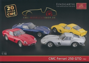 CMC model car brochure Ferrari 250 GTO