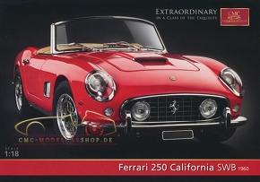 CMC Modell Prospekt Ferrari 250 California SWB