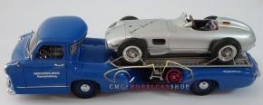 CMC Mercedes-Benz W196, Hans Herrmann, Signature Edition limited 96 pcs + CMC transporter