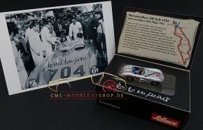 Schuco Piccolo Mercedes-Benz 300 SLR signiert Hans Herrmann