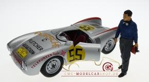 Figurenmanufaktur Figur Hans Herrmann 1:18, Porsche