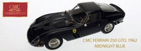 CMC Ferrari 250 GTO, 1962 Midnight Blue, 4. Collectors Edition
