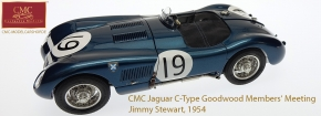 CMC Jaguar C-Type 1954 Goodwood Members' Meeting, Ecurie Ecosse #19 Jimmy Stewart