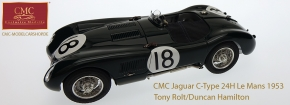 CMC Jaguar C-Type 1953 24H France Winner #18 Tony Rolt/Duncan Hamilton