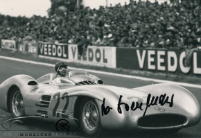 CMC Mercedes-Benz W196R, Stromlinie 1954 Reims #22 Hans Herrmann