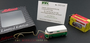 Schuco Piccolo VW T1 WWK Insurance, Agency Loubaresse & Partner