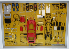 CMC Model Art Ferrari 250 GTO parts display board