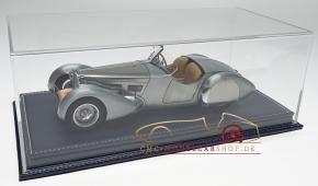Atlantic vitrine Mulhouse, cuir bleu foncé, 1:18 modèles