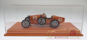 Atlantic Vitrine Mulhouse Leder Orange 1:18 Modelle
