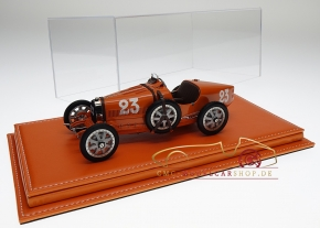 Atlantic vitrine Mulhouse leather orange, 1:18 model cars