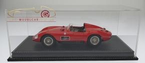 Atlantic Vitrine Mulhouse Leder Schwarz 1:18 Modelle