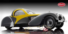 Bauer Exclusive Bugatti Typ 57SC Atalante 1937 yellow
