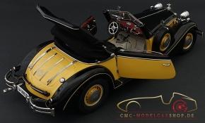 CMC Modell Horch 853, 1937, gelb/schwarz, C-003