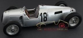 CMC Auto Union Typ C #18, Eifelrennen, Bernd Rosemeyer, 1936
