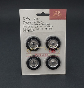 CMC original wheel rim retrofit kit for models in scale 1:24