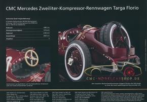 CMC modèles brochure Mercedes-Benz Targa Florio