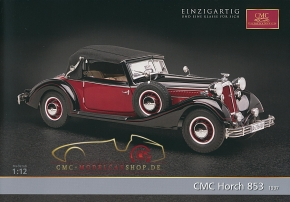 CMC model car brochure Horch 853