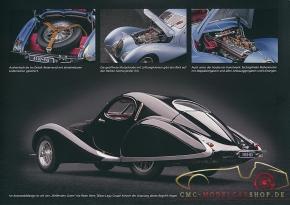 """CMC modèles brochure Talbot Lago Coupé """"Memory Edition"""""""