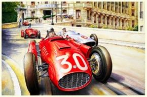 CMC Lancia D50 Eugenio Castellotti #30, Großer Preis von Monaco 1955