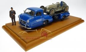 CMC Showcase (original) for the MB Racing Car Transporter 1:18