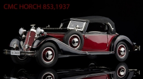 CMC Horch 853, 1937, red/black C-010