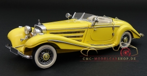 CMC Mercedes-Benz 500K yellow, Spezialroadster open, 1936