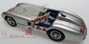 CMC Mercedes-Benz 300 SLR, Mille Miglia, Original signiert Sir Stirling Moss