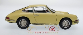 CMC Porsche 901 (Serie) 1964 champagne jaune, l'interieur cuir noir