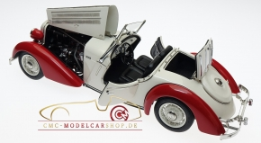 CMC Audi Front 225 Roadster, 1935, rouge/blanc